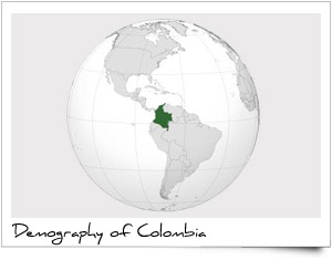demography of colombia