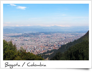 Bogota - capital of Colombia