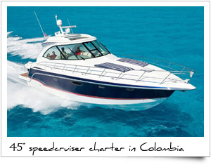 Charter Speed Boat Launch Colombia