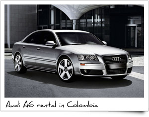 Rent a Car Colombia Audi