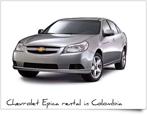 Rent a Car Chevrolet Epica Colombia