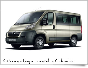 Executive group corporative transport citroen jumper Colombia