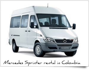 Executive group corporative transport mercedes sprinter Colombia